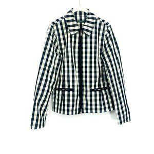 Lauren Ralph Lauren Women Checkered Jacket Medium
